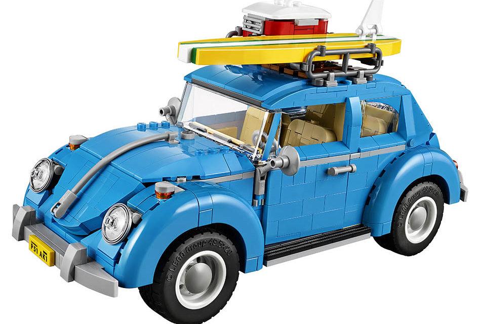 Volkswagen Beetle si můžete postavit i z LEGA