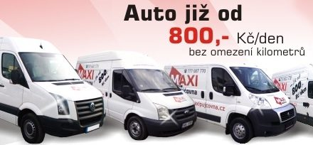 Využít půjčovnu dodávek a užitkových vozů v Praze?