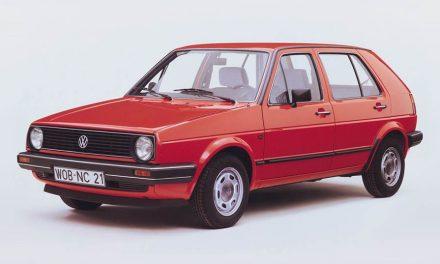 Volkswagen Golf II – druhá generace