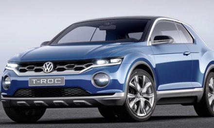Volkswagen T-ROC (2014) – studie malého SUV