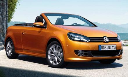 Volkswagen Golf Cabriolet v novém faceliftu