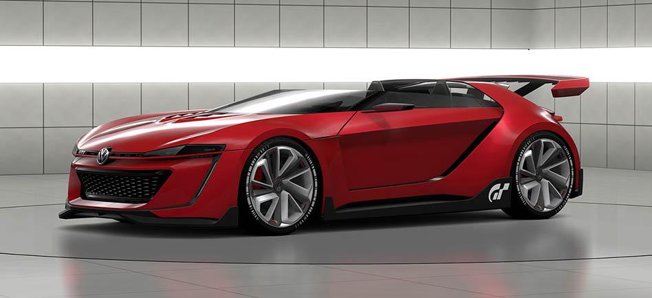 Volkswagen GTI Roadster – digitální koncept (2014)