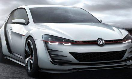Krásný a silný: VW Golf Design Vision GTI