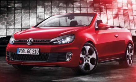 Volkswagen Golf GTI nově jako kabriolet!
