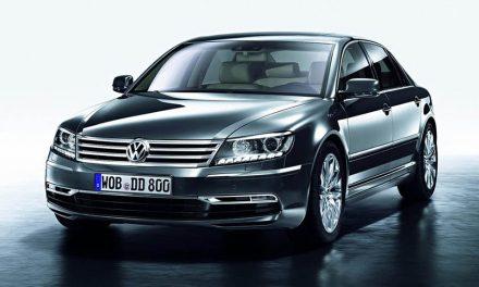 Chystá se nový Volkswagen Phaeton (2014)