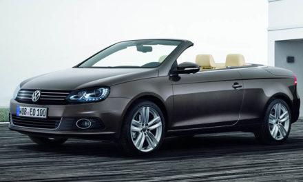 Kabriolet Volkswagen Eos se brzy přestane vyrábět