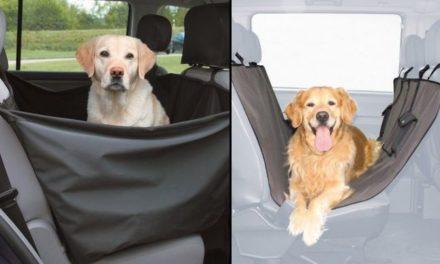 Chytré ochranné potahy do auta pro psy