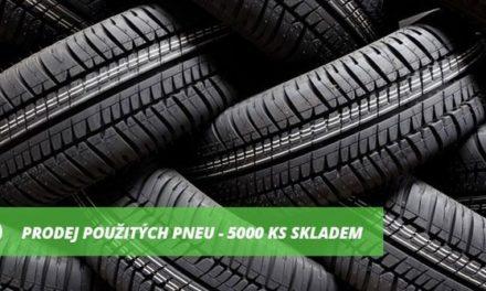 Kupovat pouze nové nebo i použité pneumatiky?