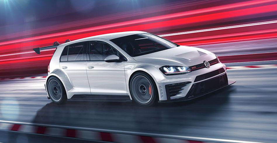 Nový závodní model Volkswagen Golf se blíží do výroby