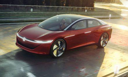 Volkswagen I.D. Vizzion – studie elektrovozu bez volantu