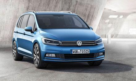Druhá generace Volkswagen Touran (2015)