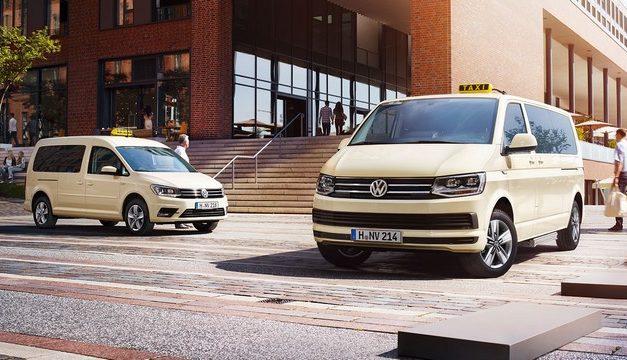 Volkswagen Caravelle a VW Caddy nově v TAXI provedení