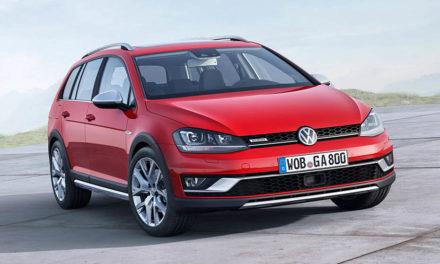 Volkswagen Golf Alltrack – nový a vyšší kombík