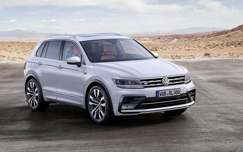 Byly oznámeny další dvě verze nového VW Tiguanu 2016