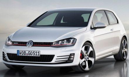Volkswagen Golf VII ve verzi GTI