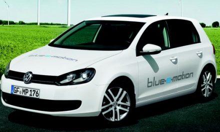 Představuje se VW Golf blue-e-motion