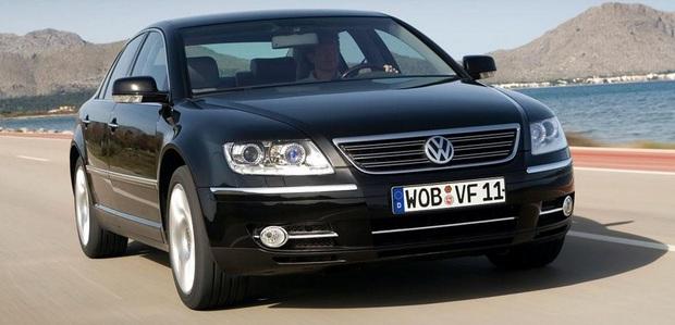 Příplatková výbava Volkswagenu Phaeton