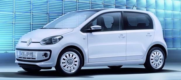 Nový Volkswagen Up nyní jako pětidvéř