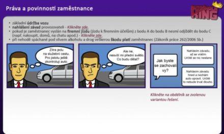Jak dnes se školí řidiči referenti? Samozřejmě moderně – online